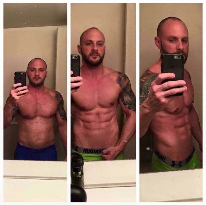 My #transformationtuesday goes to one of our teammates Chris. Chris is a personal trainer who knew i