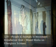 People and Animals in Movement
