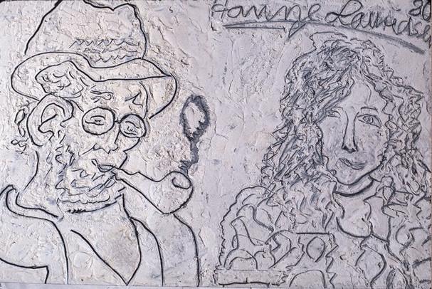 Self Portrait + Matisse