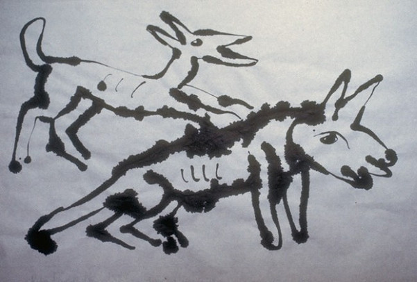 Ink Drawings on Rice Paper