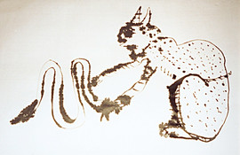 Cat and Snake - Poured India II