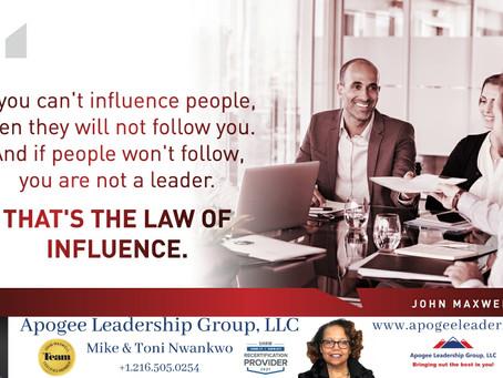 It's About Influence