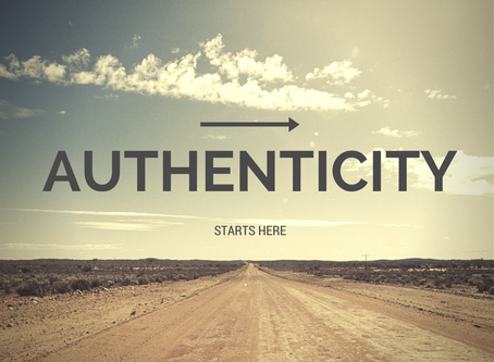 Keeping it Real - Living an Authentic Life