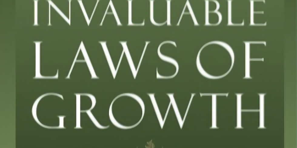 The 15 Invaluable Laws of Growth - VT