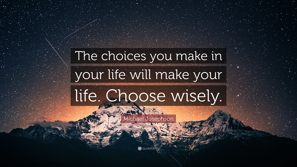 Choose wisely image