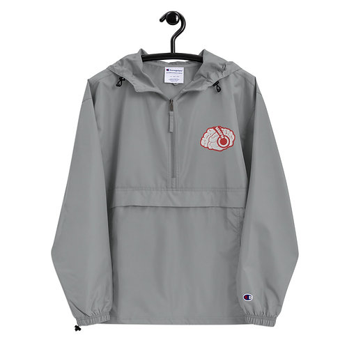 MMPN Brain Embroidered Champion Packable Jacket