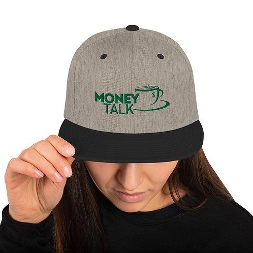 Money Talk Snapback Hat