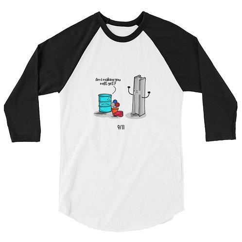9/11 SCW 3/4 sleeve raglan shirt