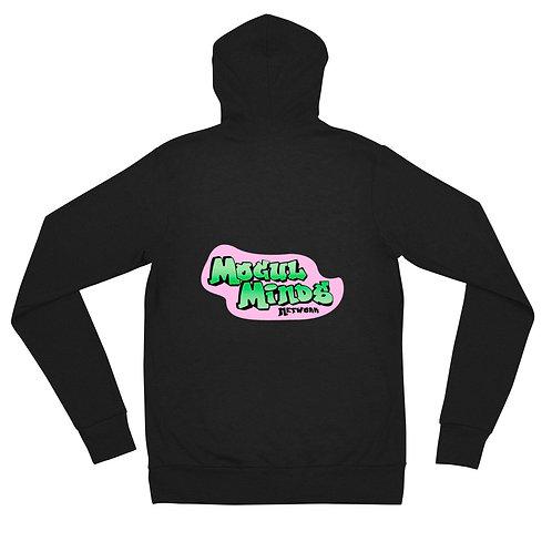 Mogul Minds Fresh Prince styled Unisex zip hoodie