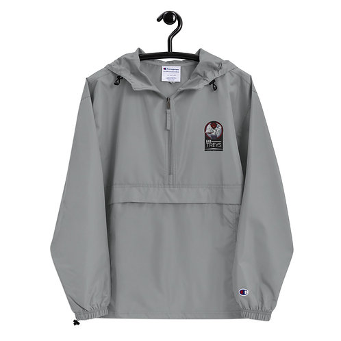 Fat Treys Embroidered Champion Packable Jacket