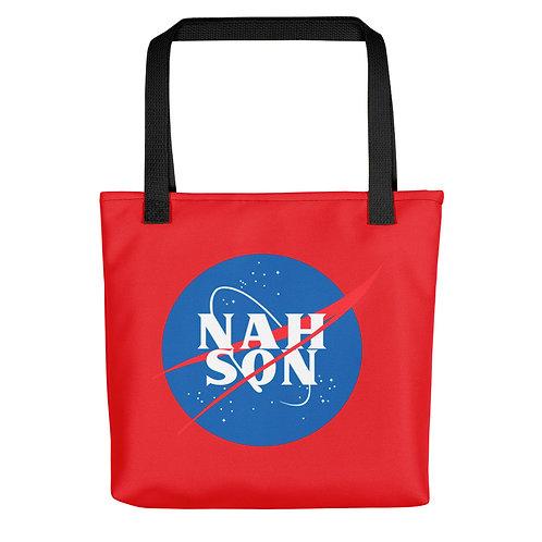 Nah Son Tote bag