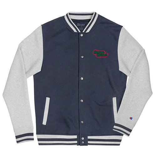 Mogul Minds Fresh Prince Embroidered Champion Bomber Jacket