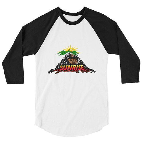 Sunrise 3/4 sleeve raglan shirt