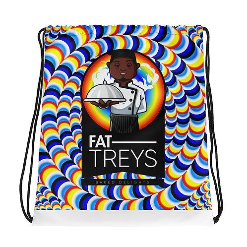 Fat Treys Drawstring bag