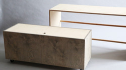 pull out bench w storage