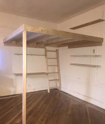 loft w desk and shelving