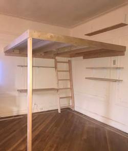 loft w desk and shelving
