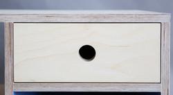 detail of storage cabinet