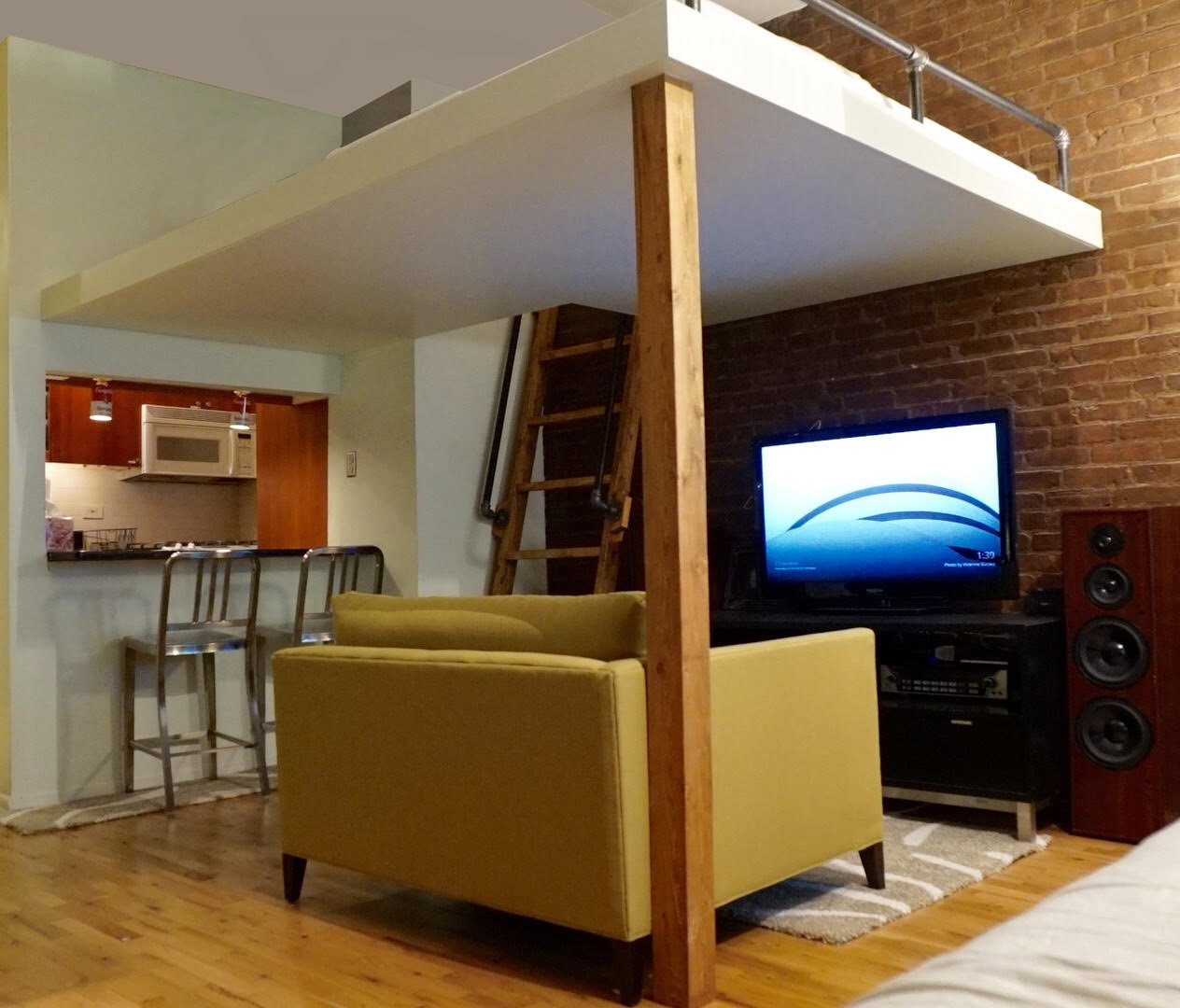 custom built loft beds nyc, loft bed