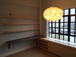 bedroom (desk, radiator cover)
