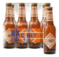 CINEY bière blonde 7,0%vol 8x25cl