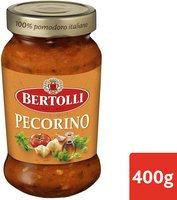 BERTOLLI sauce pâtes pecorino ail 400g