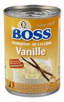 BOSS riz à la crème vanille cons 400g