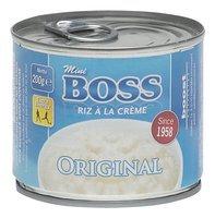 BOSS mini riz crème original cons 200g