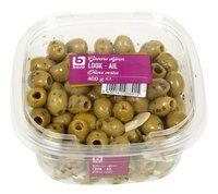 BONI Olives vertes à l'ail 400g
