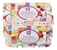 BONI yaourt fruit 5 goûts 0%mg 12x125g