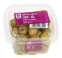 BONI Olives vertes à l'ail 150g