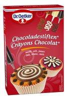 DR.OETKER Cupcake crayons chocolat 3pc