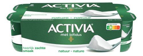 DANONE ACTIVIA yaourt ent.nature 8x125g
