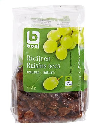 BONI raisins secs nature 250g