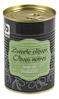 BONI olives noires dénoyautées 400g