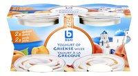 BONI yaourt grec abricot/pêche 4x150g
