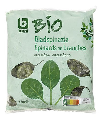 BONI BIO épinards branches 1kg