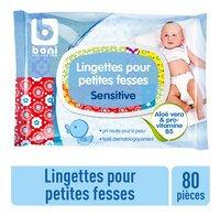 BONI lingettes bébé Sensitive 80pc