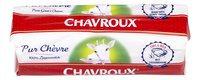 CHAVROUX fromage de chèvre buche 150g