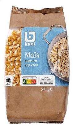 BONI SELECTION maïs popcorn 500g
