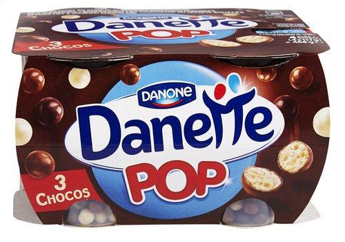 DANONE DANETTE crème Pop choco 4x117g