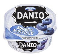 DANONE DANIO fromage frais myrtil. 180g