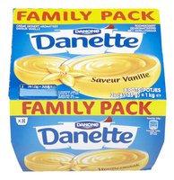 DANONE DANETTE crème vanille 8x125g