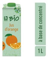 BONI BIO jus d'orange brique 1L