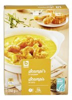 BONI scampis curry ASC 250g