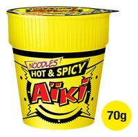 AÏKI nouilles hot & spicy pot 70g