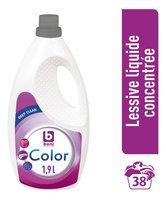 BONI lessive liquide conc.Color 38d 1,9L