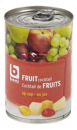 BONI cocktail de fruits au jus cons 412g