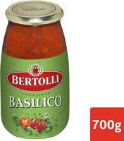 BERTOLLI sauce pâtes tomate basilic 700g