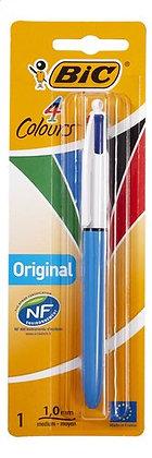 BIC stylo à bille 4 couleurs